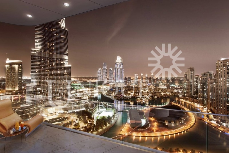 4 Bed in Opera District, Full Burj and Fount. view