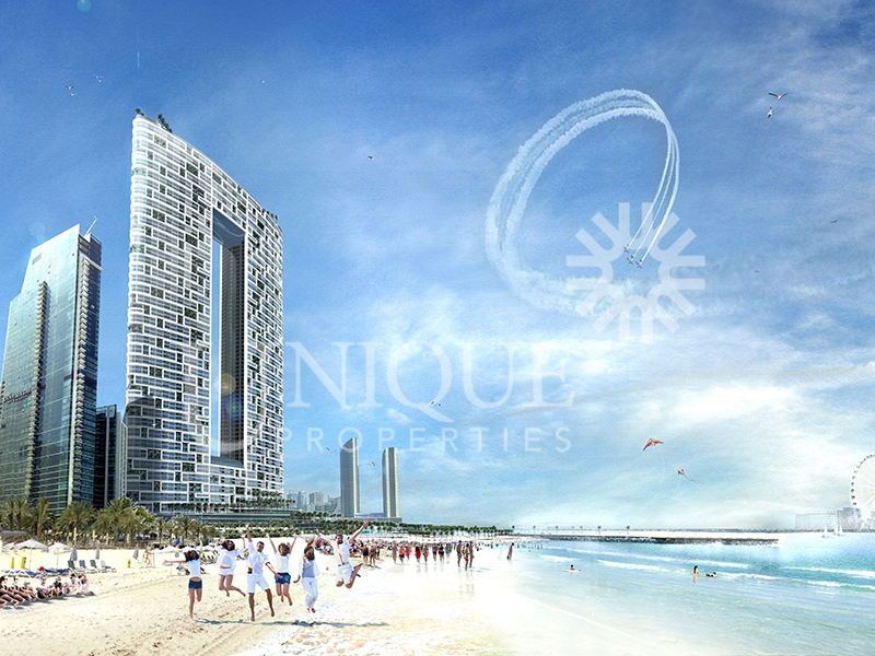 1 Bed in JBR with amazing Marina View