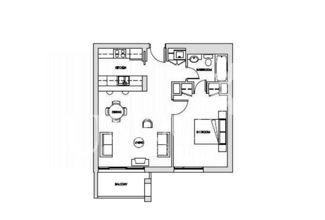 Ground Floor 1 Bedroom in Al Samar - Garden