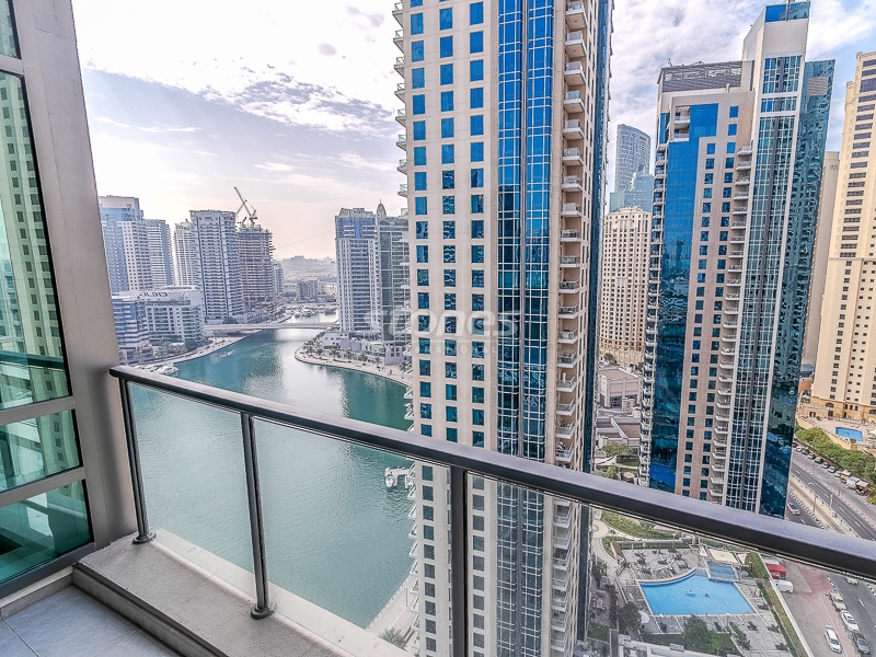 Upscale Penthouse with Full Marina and Sea View