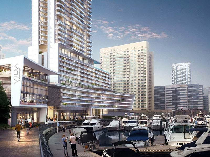 Vida Residences Dubai Marina-7