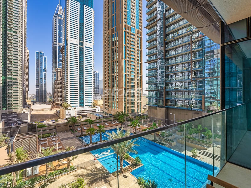 Fully Furnished with Most Striking Pool View
