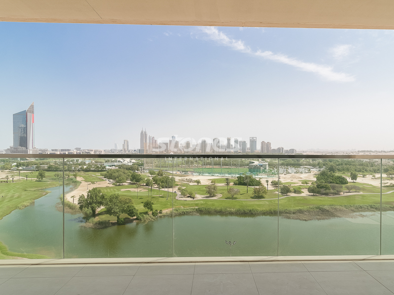 3BR+Maid's with Panoramic And Golf Course View