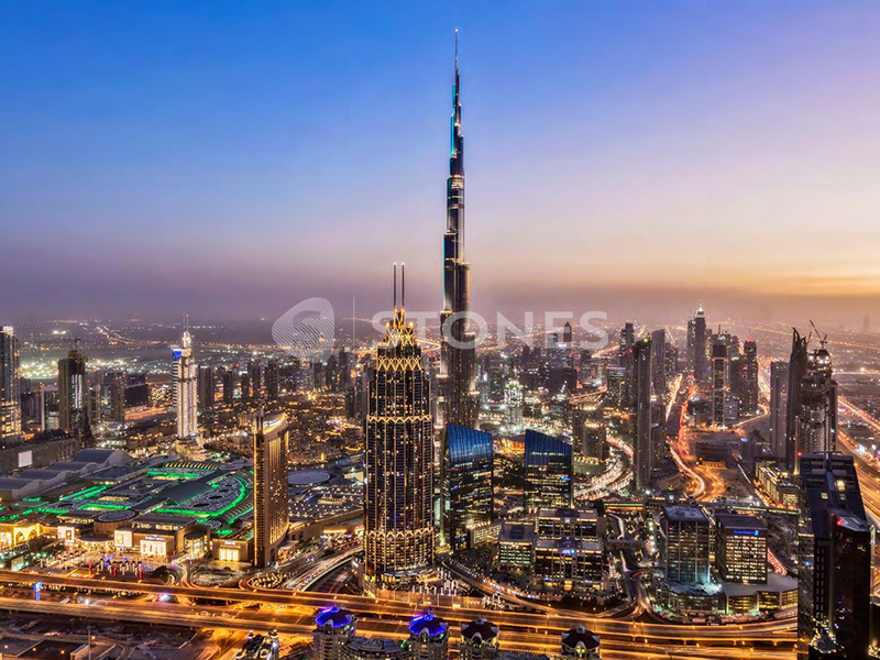 Very High Floor | Full Burj Khalifa View
