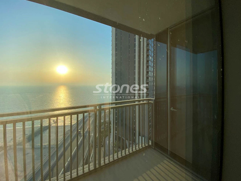 Bright and Spacious | Sea View | Unfurnished
