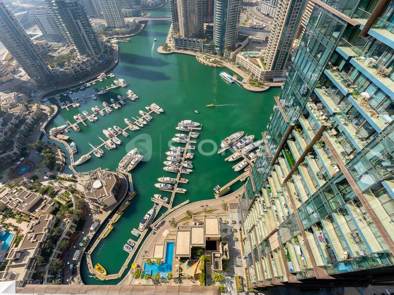 Rented   Unfurnished   Fantastic Marina View