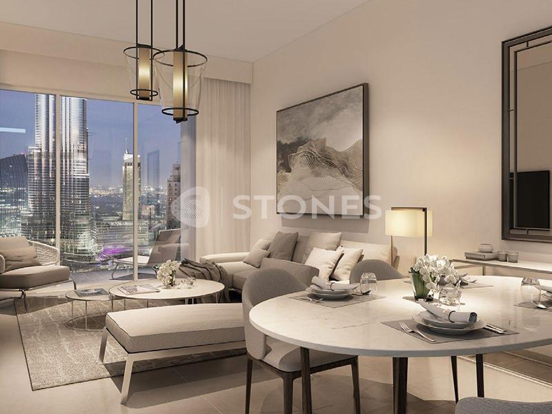 Opulent Apt| Two Balconies| Burj Khalifa View