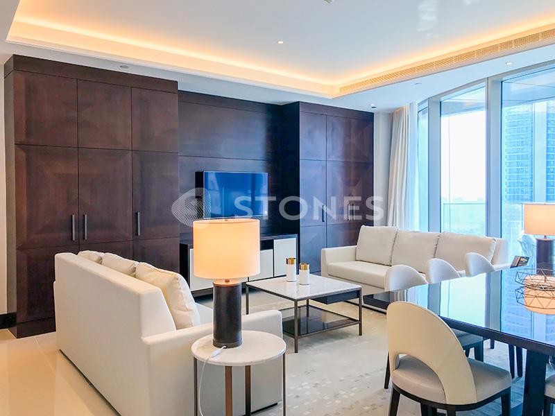 Full Burj Khalifa View | Luxury Apt | Corner Unit