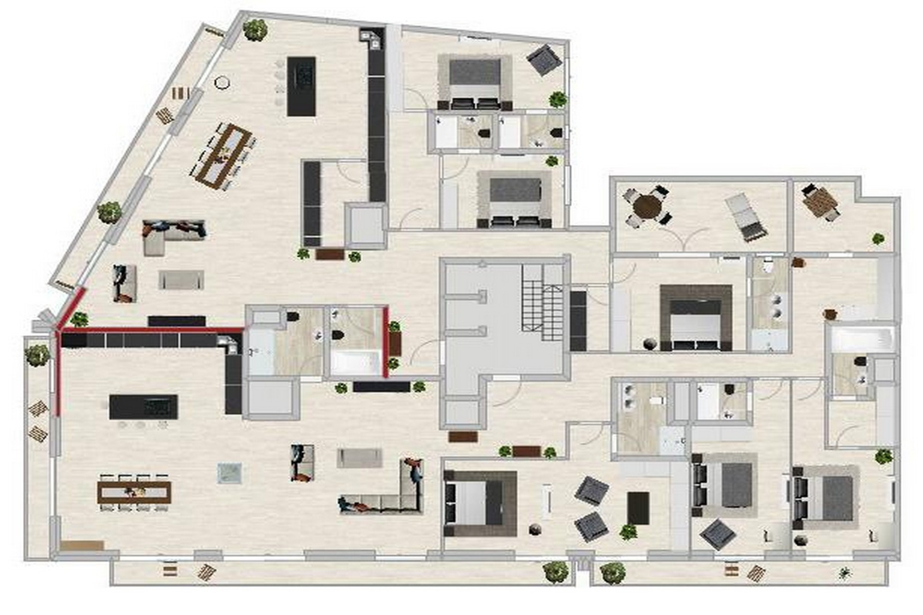 3 bed Penthouse For Sale in Sliema, Sliema - thumb 12