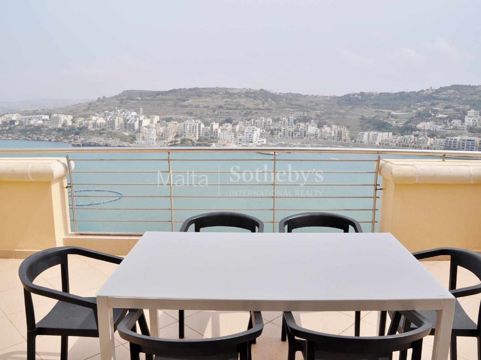 2 bed Penthouse For Rent in Xemxija, Xemxija - thumb 2