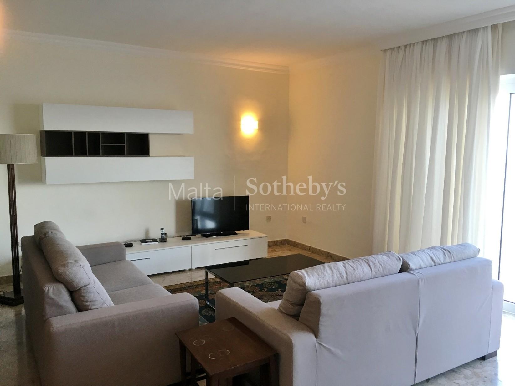 1 bed Apartment For Rent in Sliema, Sliema - thumb 4