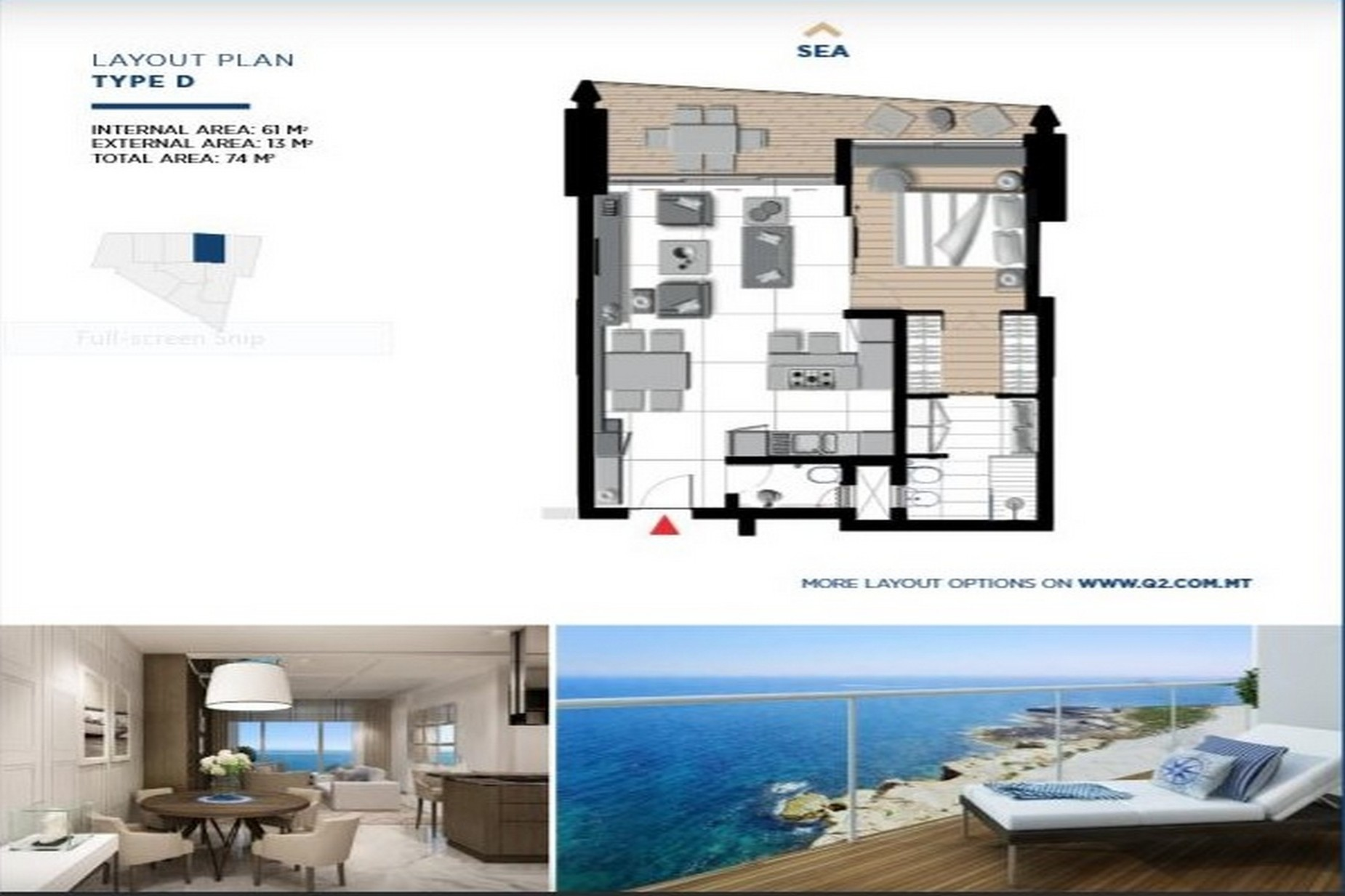 1 bed Apartment For Sale in Sliema, Sliema - thumb 13