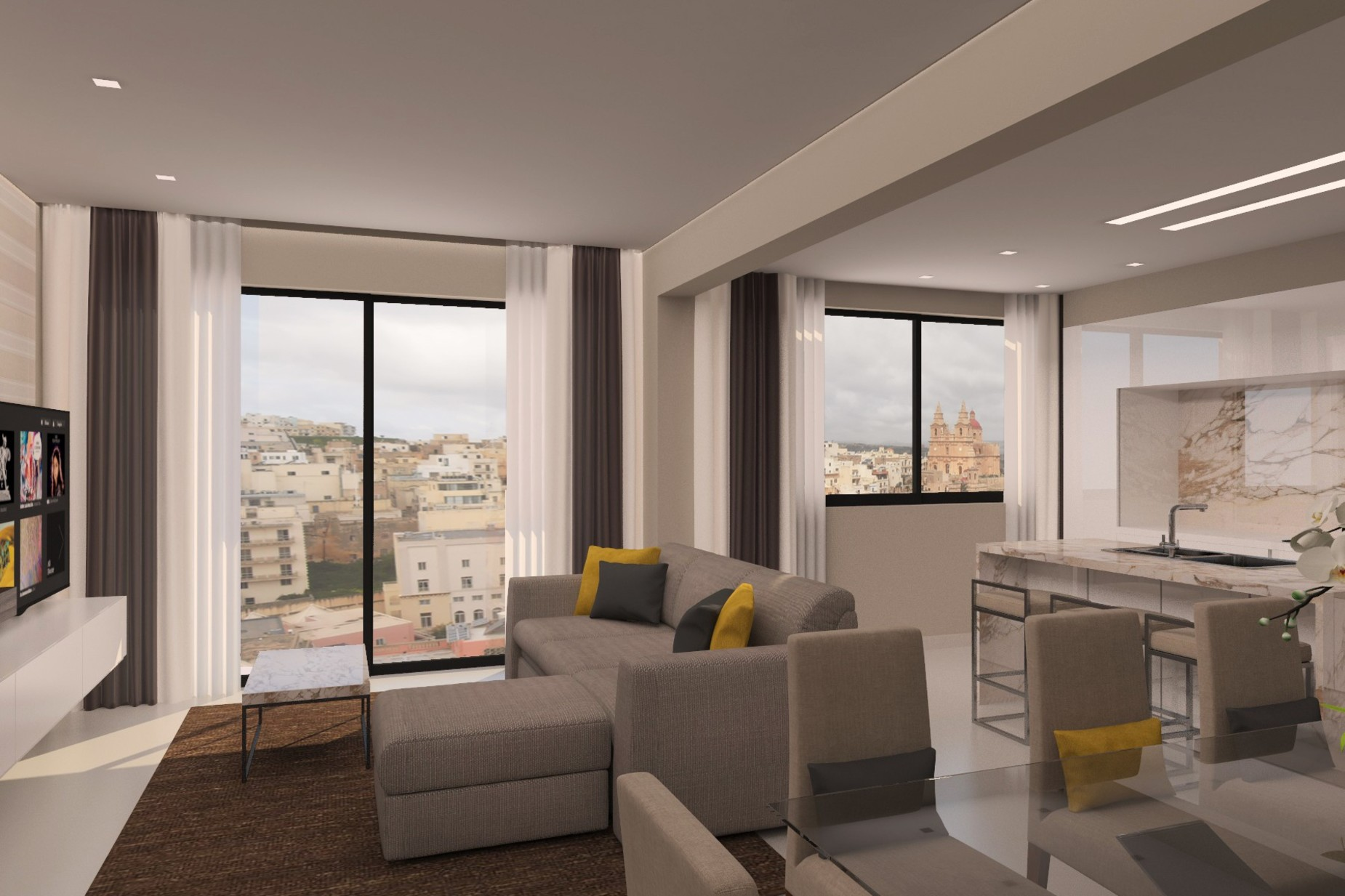 2 bed Penthouse For Sale in Mellieha, Mellieha - thumb 4