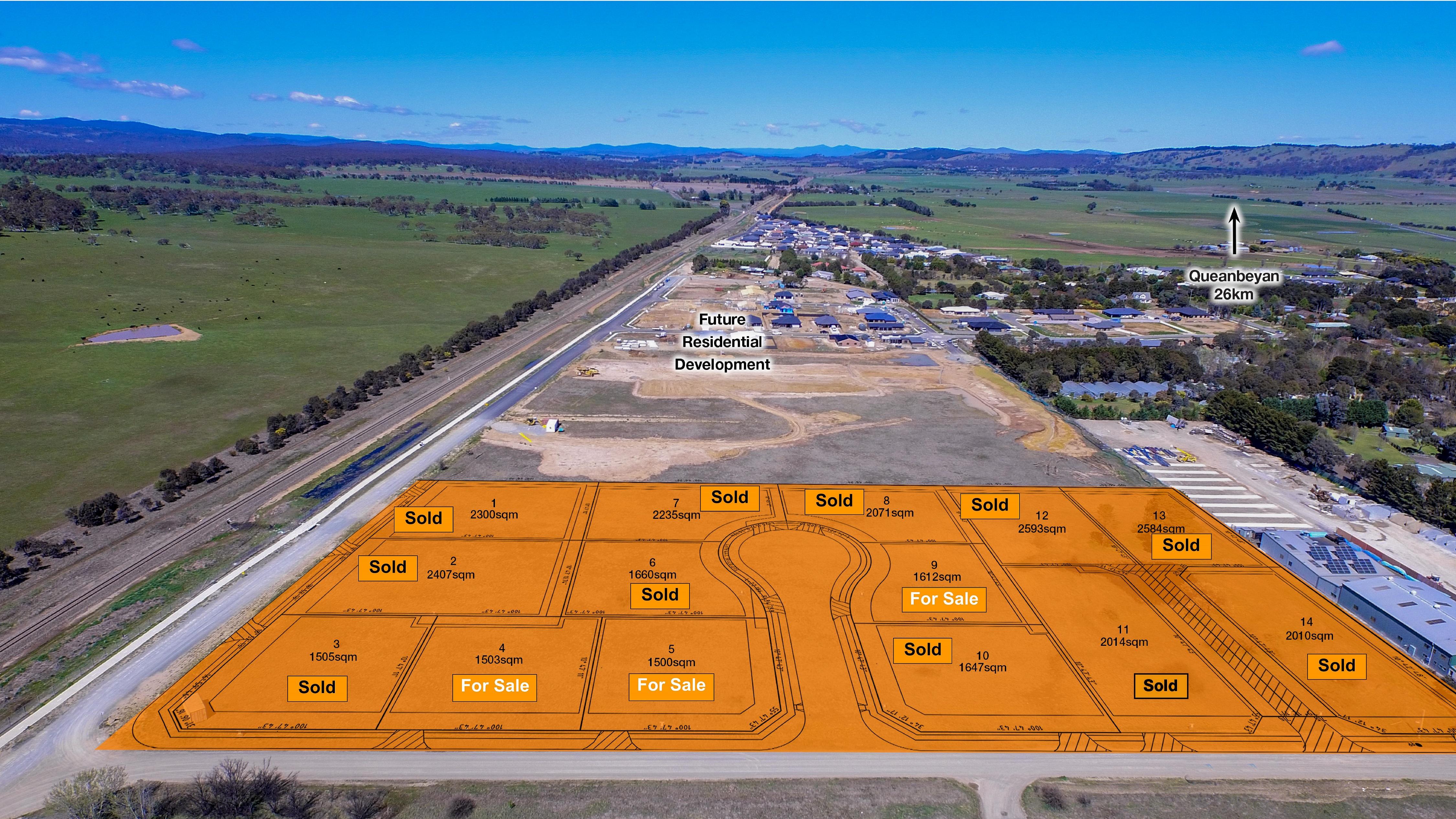 Land Development Opportunity – 3 Blocks Remaining!