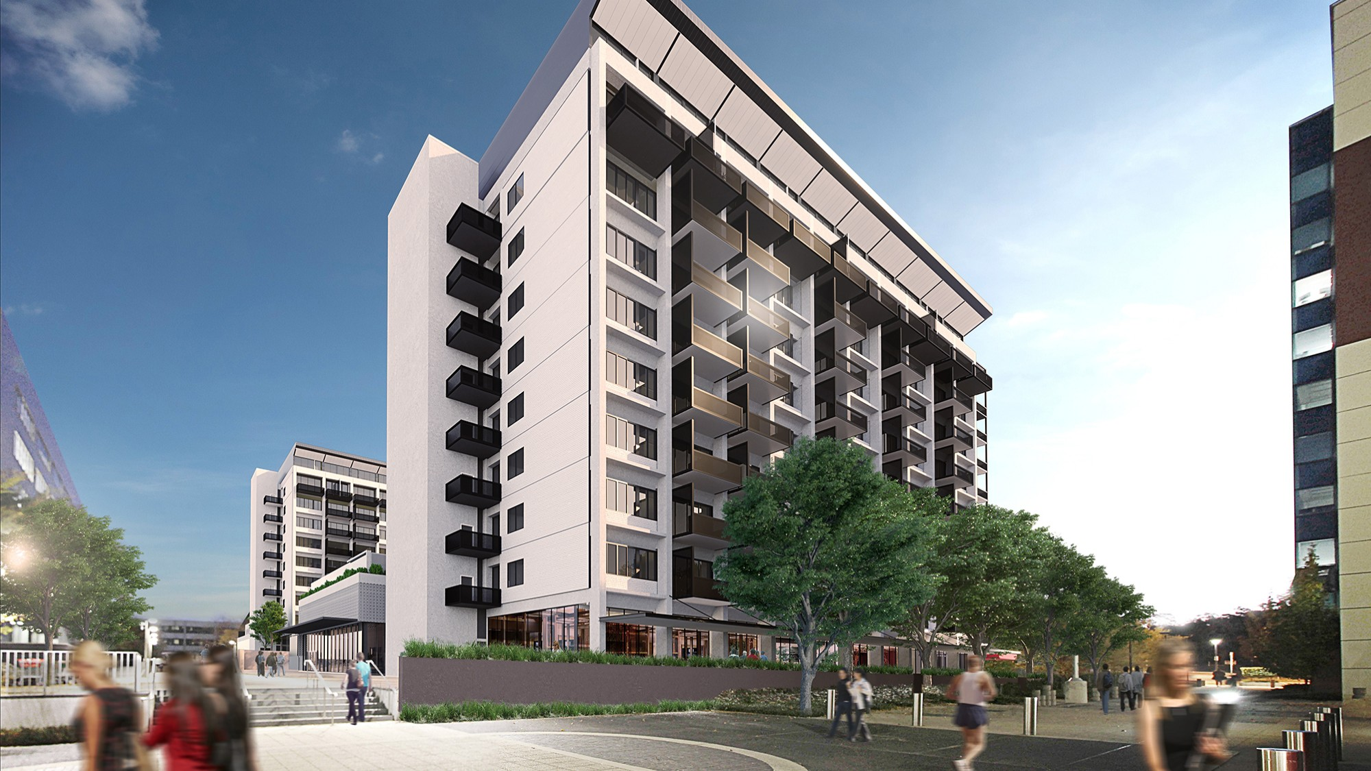 Alexander and Albemarle Woden – An exciting mixed use precinct