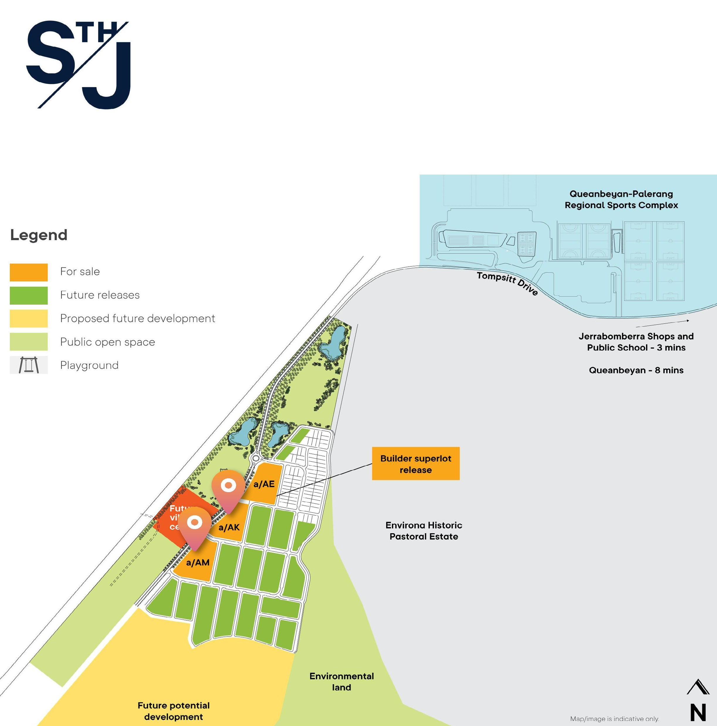 Two Residential Superlots at NEW South Jerrabomberra Development
