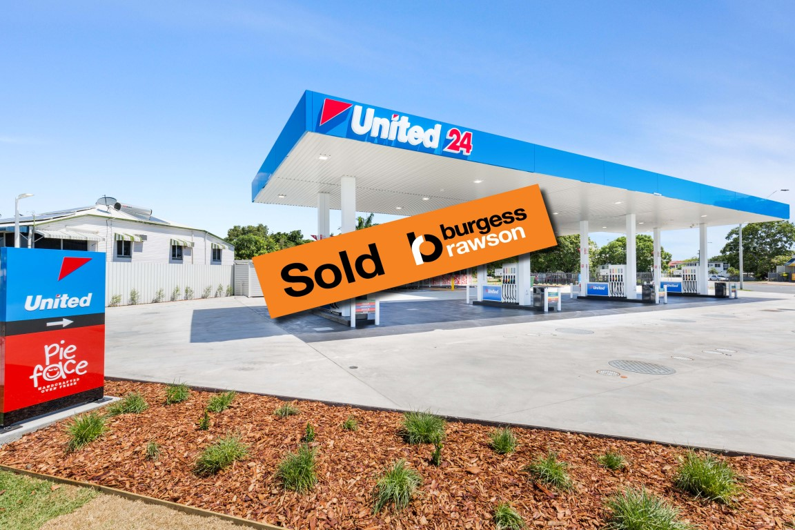 Brand New United Service Station – Opens Next Week