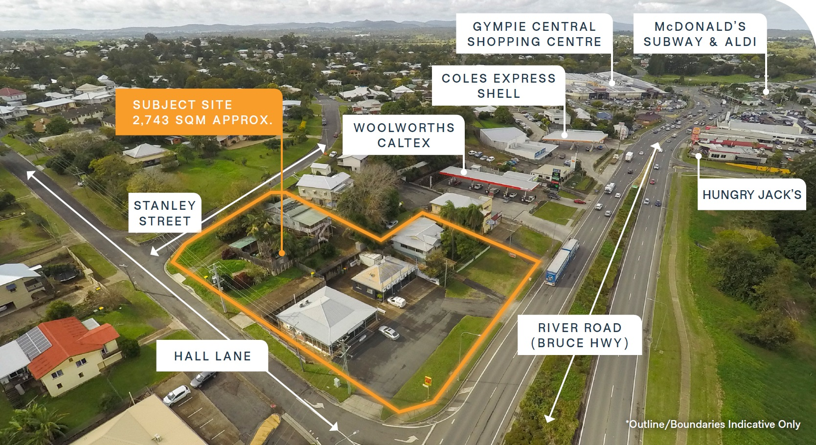 Highway Mixed-Use Development Site – Strategic Position with Massive Frontage