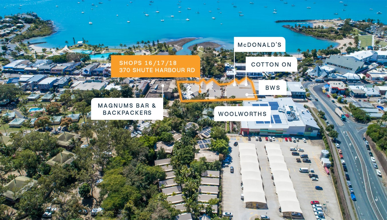 Entry Level Retail Investment, Airlie Beach CBD