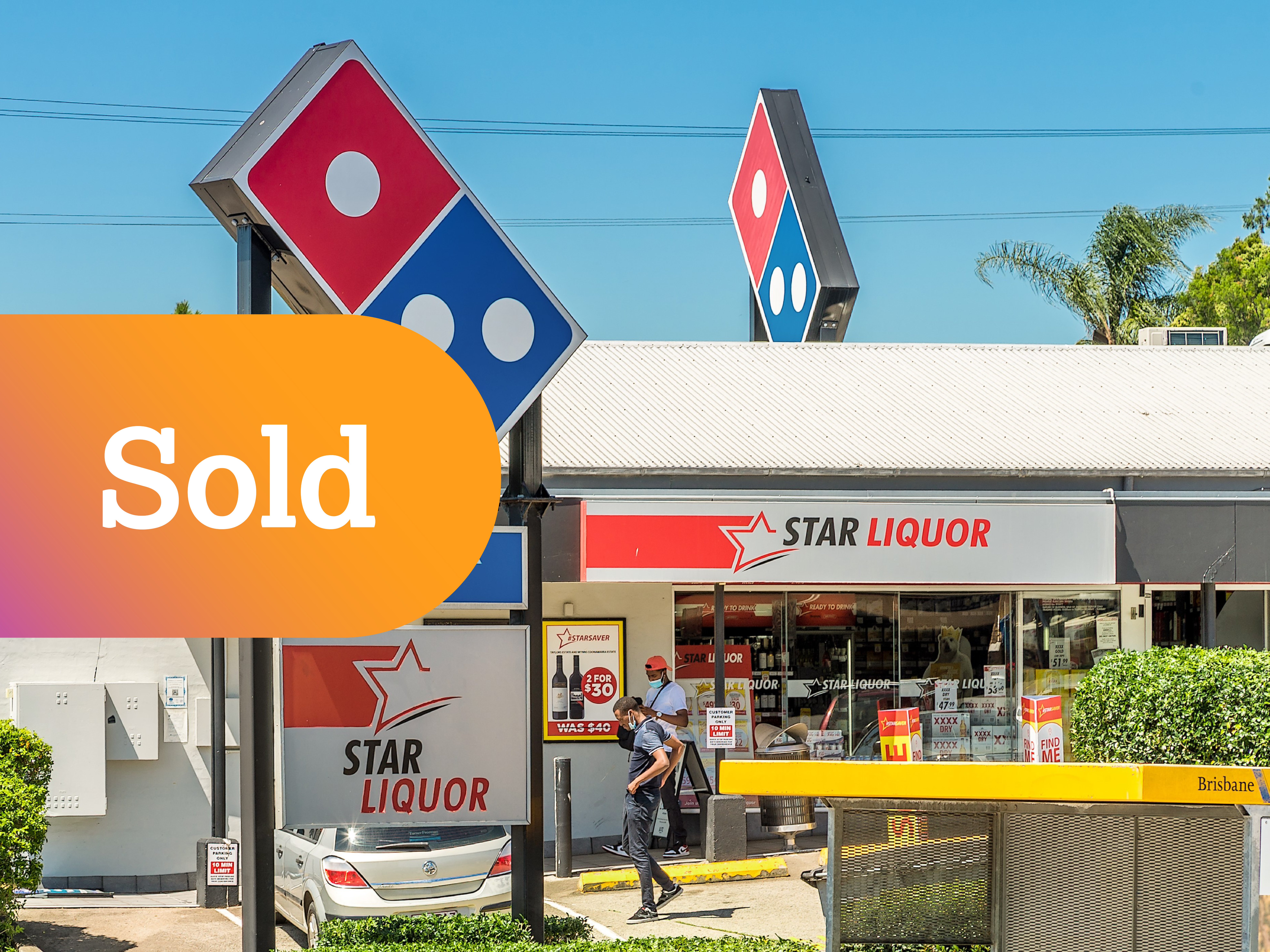 High Profile Corner Retail Centre National Tenants, Long Leases