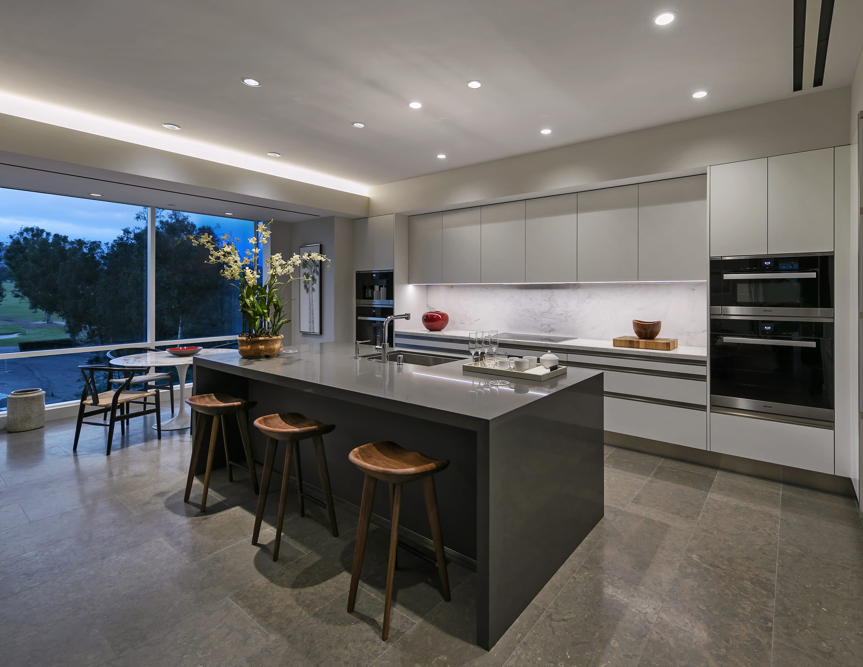 kitchen in unit 4 northwest at beverly west highrise los angeles
