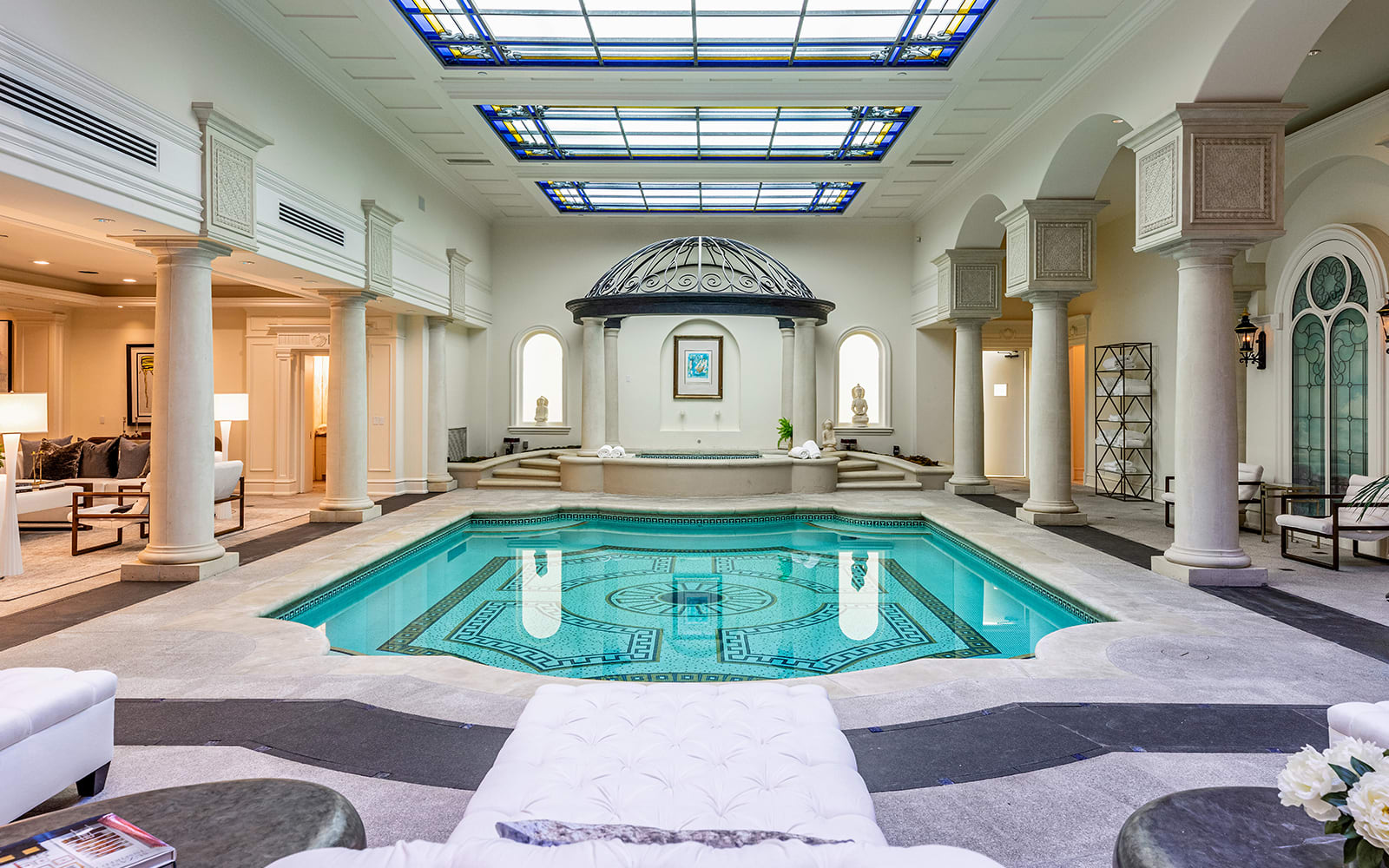 indoor swimming pool bel air luxury 277 st pierre