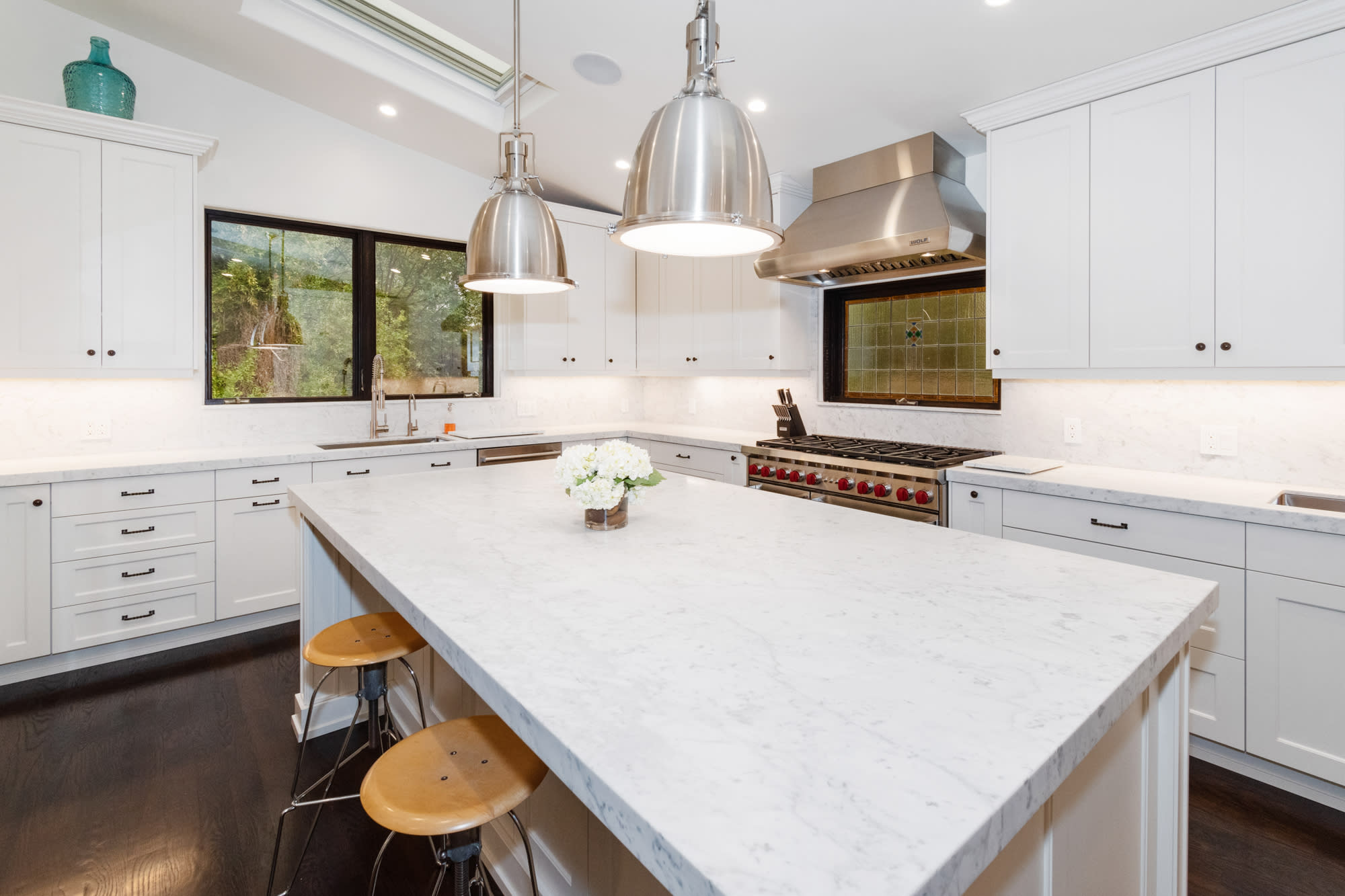 aj mclean's former los angeles house kitchen
