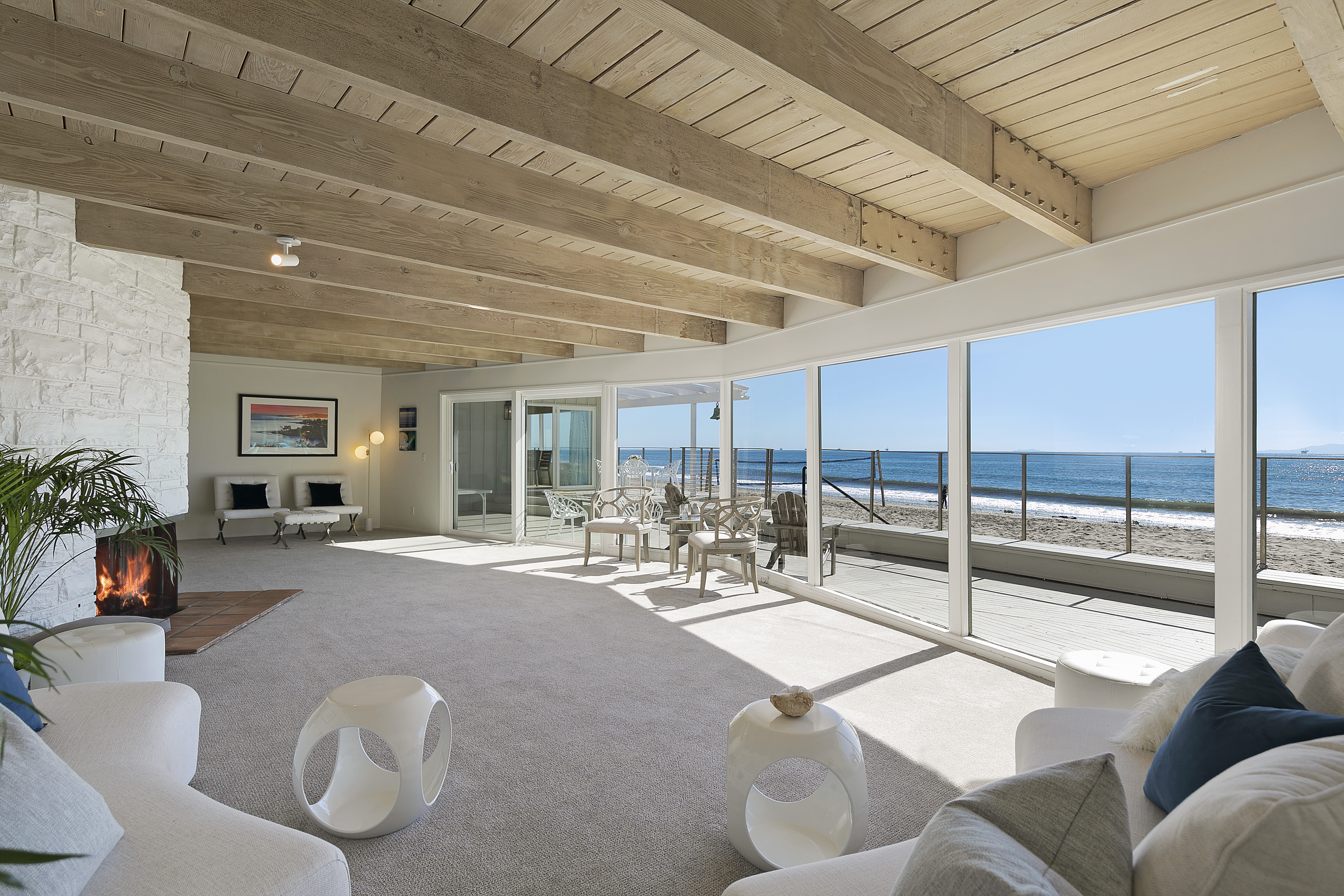 walls of windows inside a luxury montecito home 1583 jameson