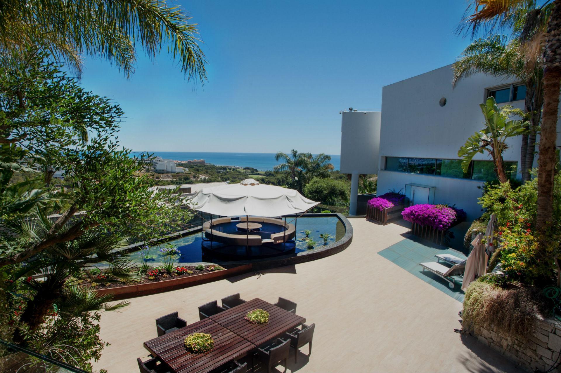 designer villa near ocean in sitges barcelona