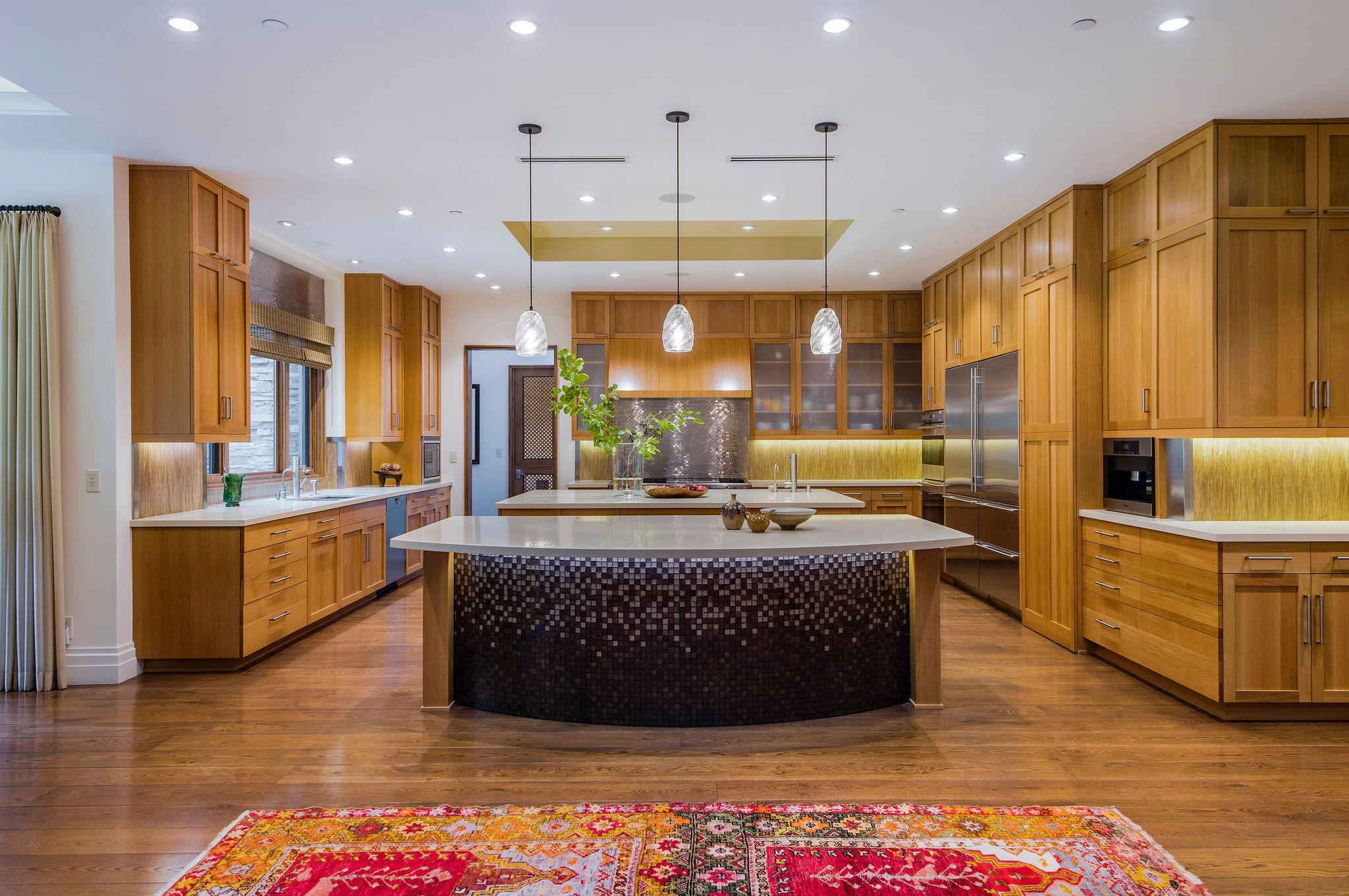 kitchen inside the Artisan Hidden Hills