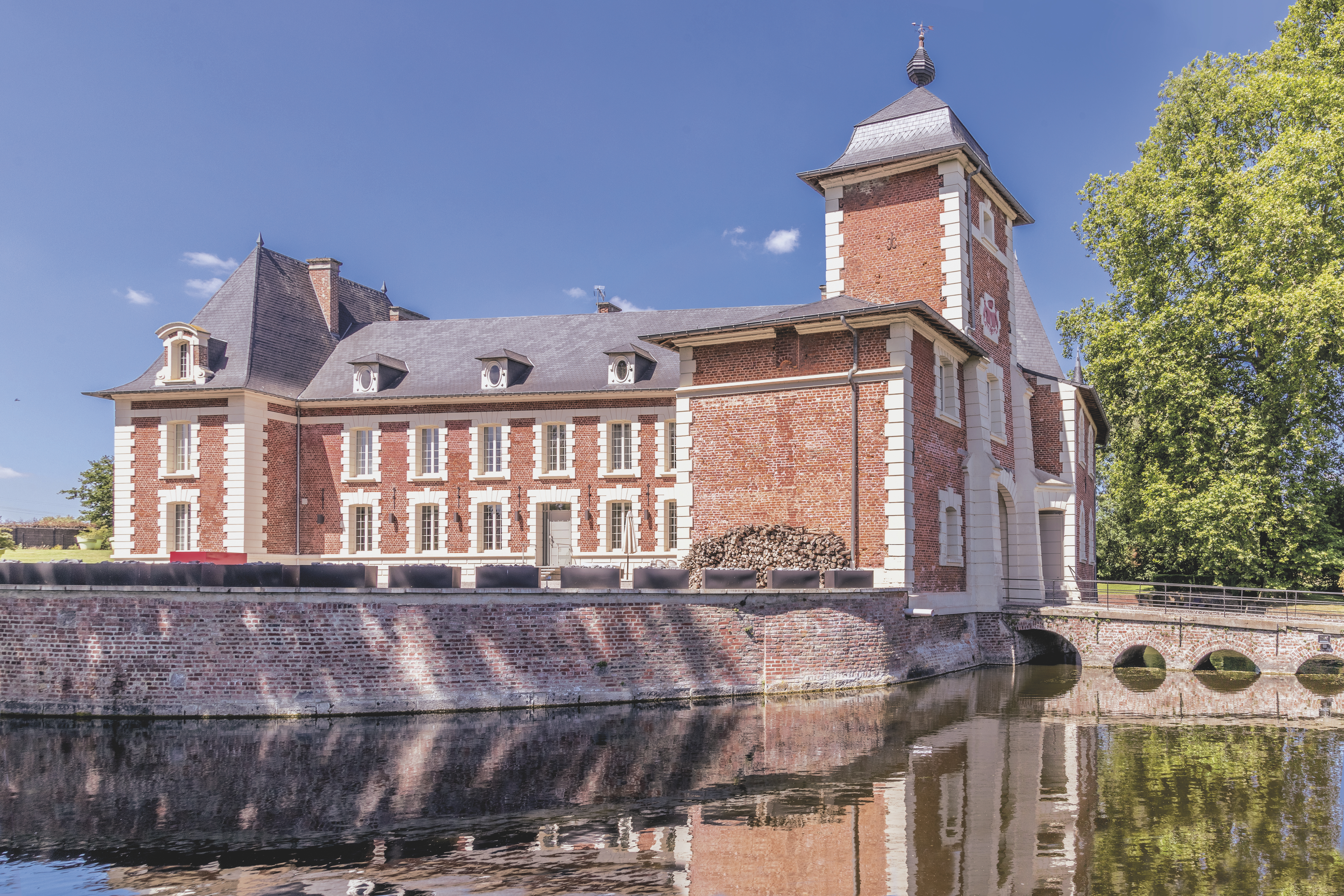 North of France 18th century chateau