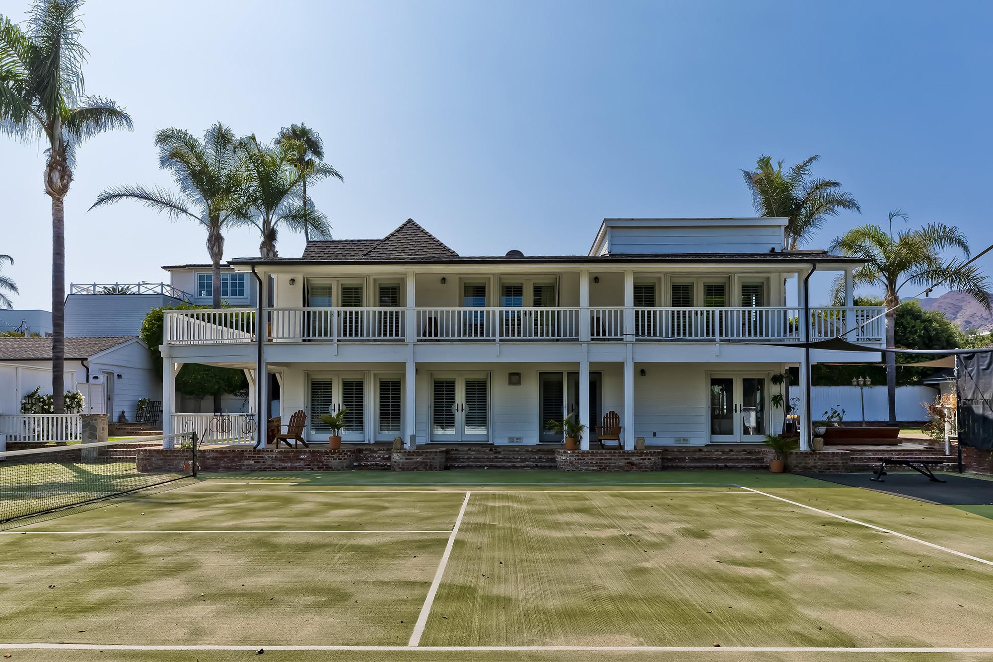 tennis court estate at malibu colony 23457 Malibu Colony Rd #87