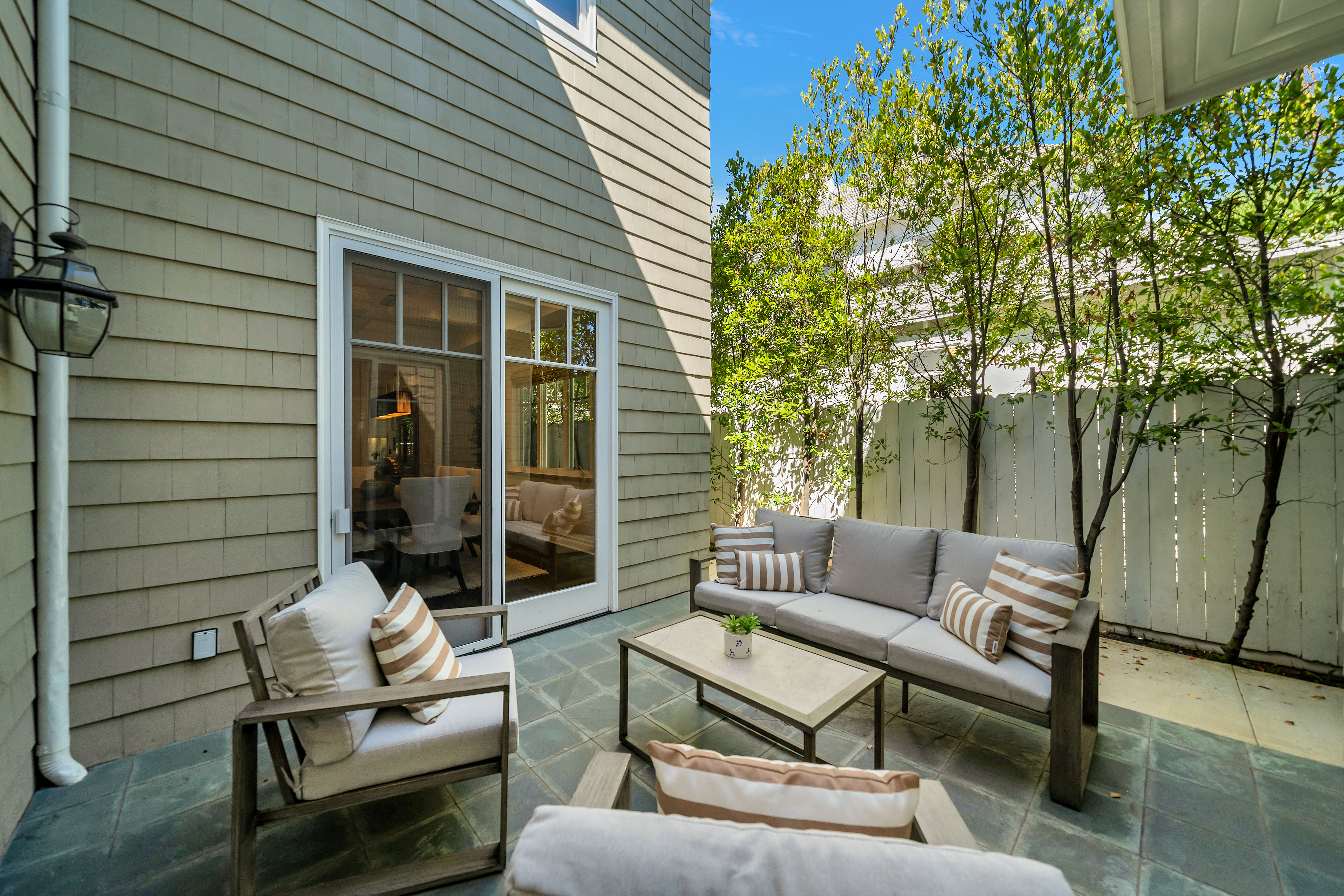 brentwood luxury home for sale with outdoor patio