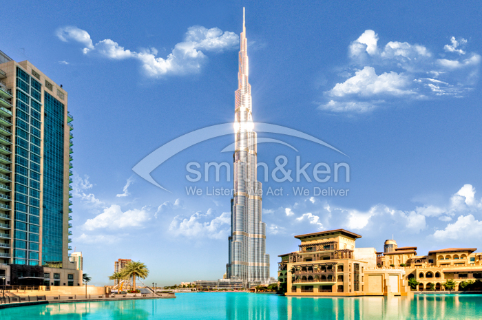 Burj Khalifa - Apartment - Sea  View - 1888 sq ft 2 Bed