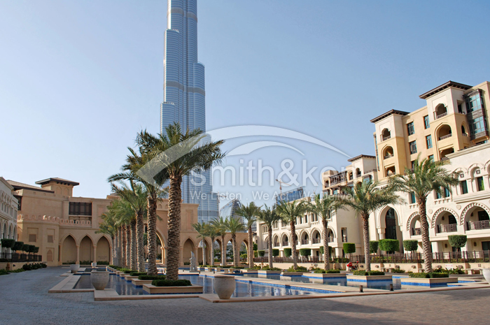 Old Town Islands - Tajer - Apartment - Burj Khalifa View - 1161 sq ft 1 Bed