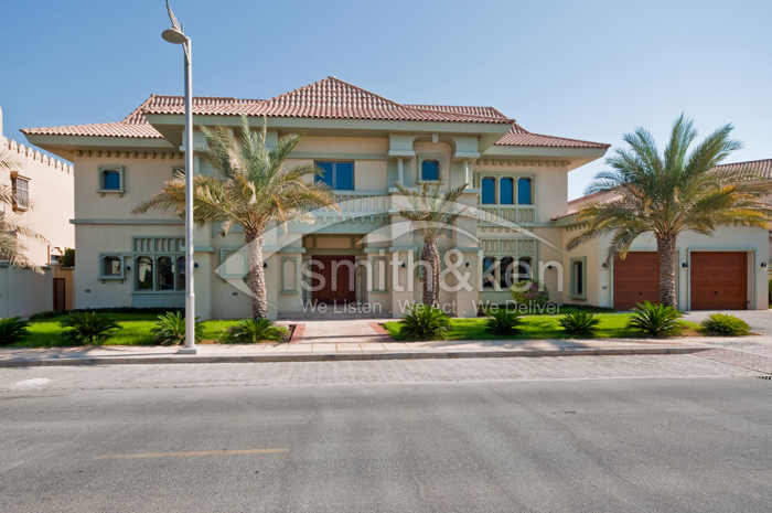 Signature Villas - Villa - Sea View - 7000 sq ft 6 Bed
