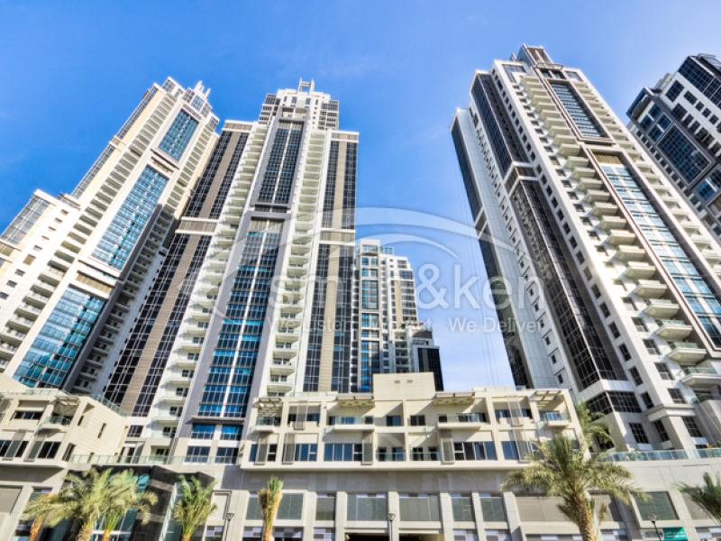 Executive Tower B - Apartment - Road View - 952 Sq Ft 1 Bed