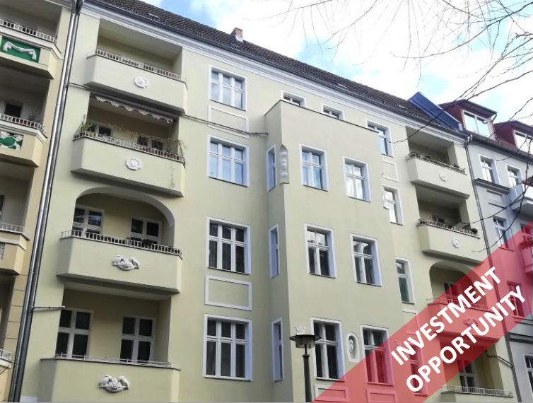 Large Tenanted Apartment In Beautiful Old Building