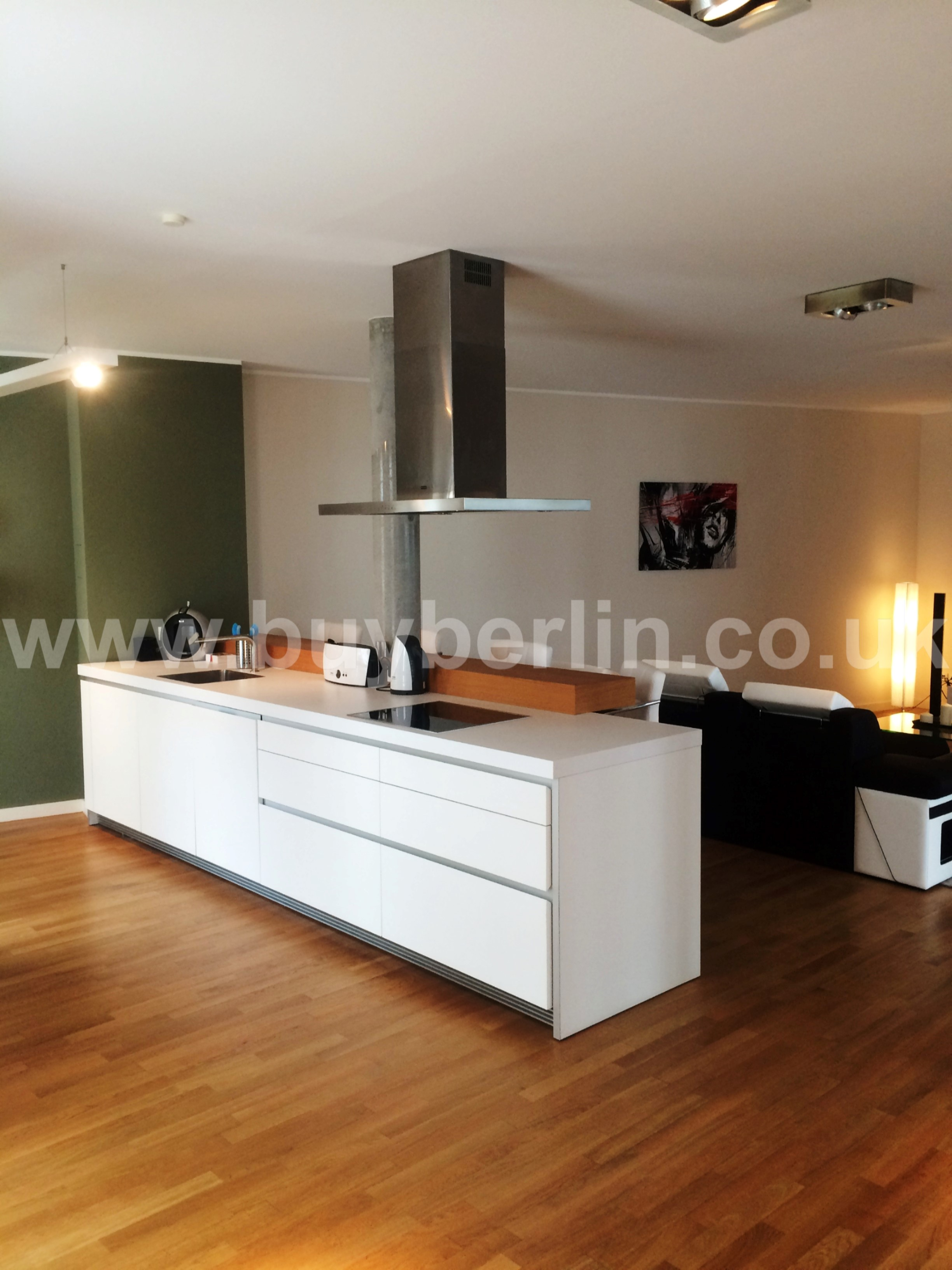 Luxury 2 Bedroom Apartment Mitte