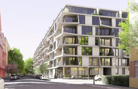 Modern Luxury Apartment Project Close to Spree