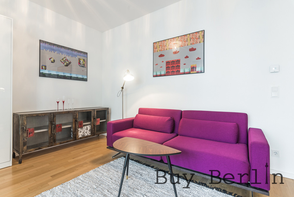 Superb Studio in Mitte with large terrace