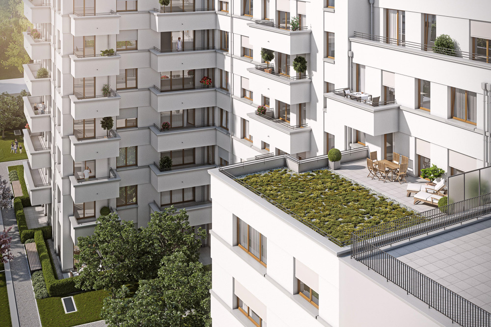 Brand New 1 Bedroom with balcony in Mitte