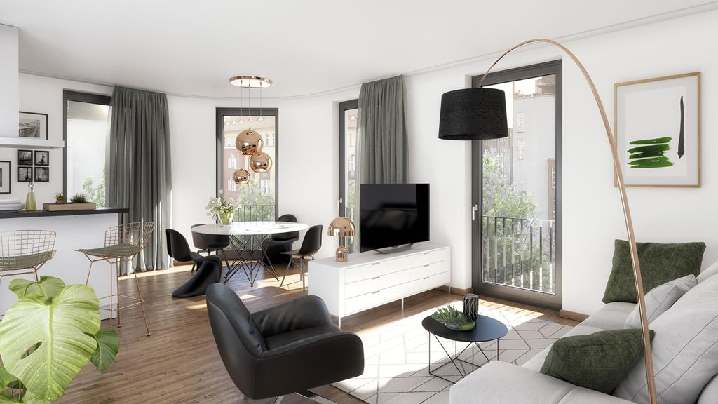 Delightful Modern 1 Bedroom Apartment