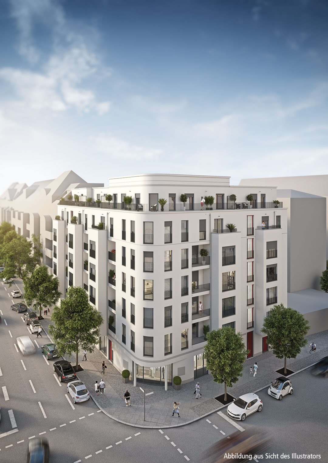 New 2 Bed Apartment in City West