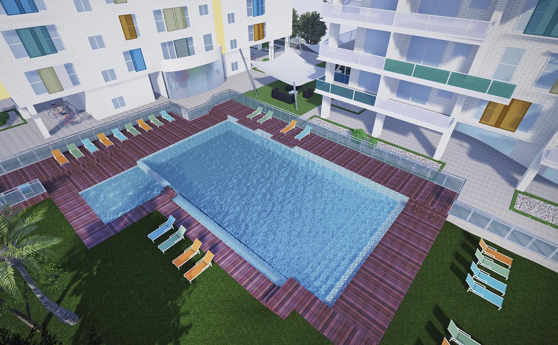 Venta piso en playa de san juan 2 dormitorios obra nueva vistas al mar b2 e1 2 c alicante - Pisos obra nueva alicante ...