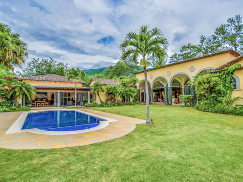 For Sale in Santa Ana, Magnificent Mansion, Big Yard, Pool in Gated