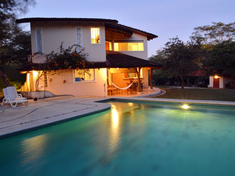 Tropical Home with Acreage and a Guest House in Tamarindo | Single