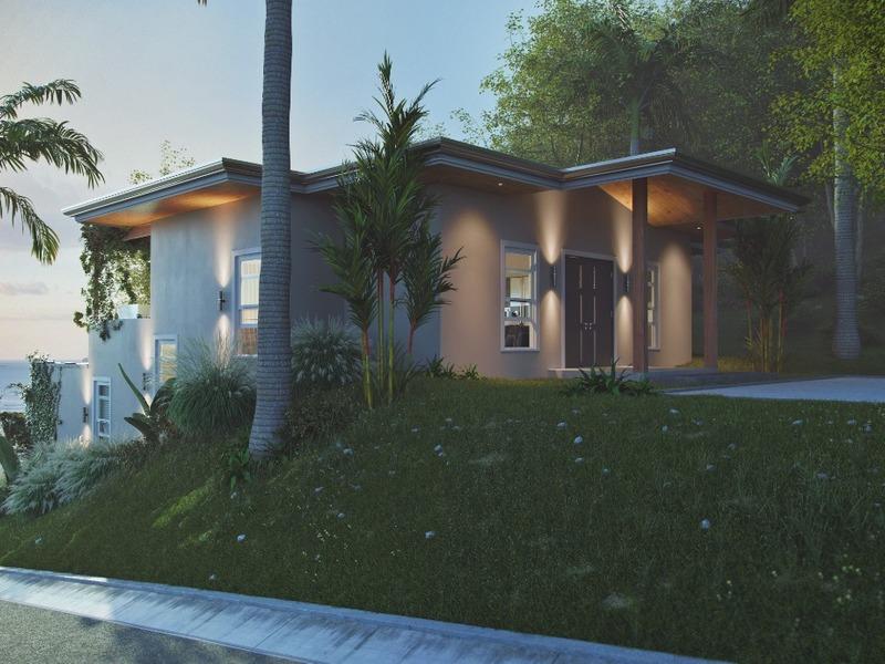 Costa Rica Guanacaste Playa Flamingo - OceanView Home in Desired Development