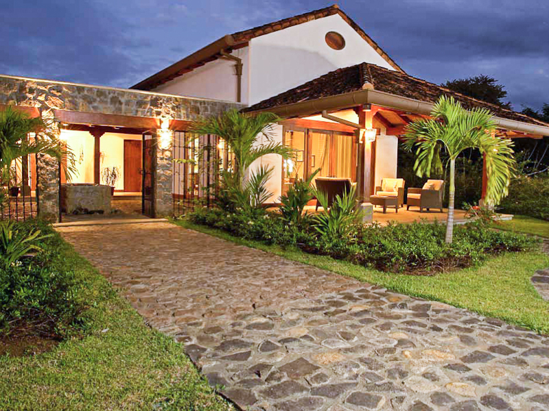 Spanish Colonial design home in Hacienda Pinilla
