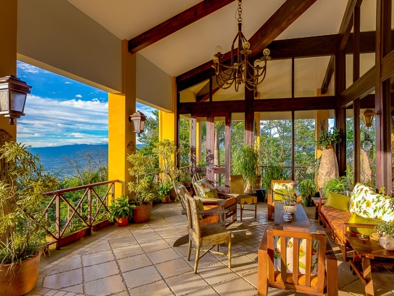 Luxurious Private Estate In Escazu For Sale With Panoramic